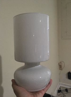 Set of 2 small glass Ikea lamps for Sale in Herndon, VA
