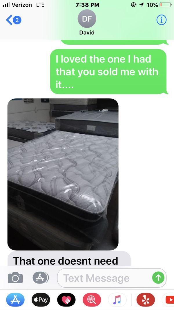 queen mattress and box spring furniture in menifee ca offerup