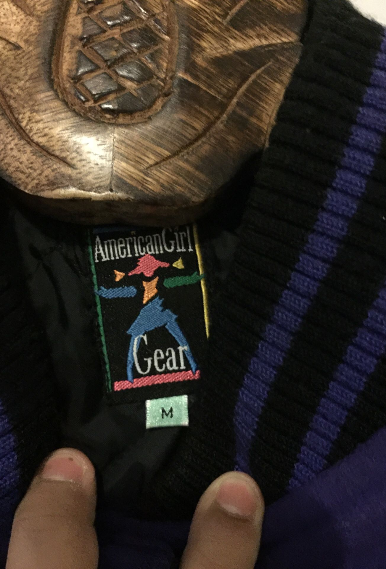 Girls american girl jacket