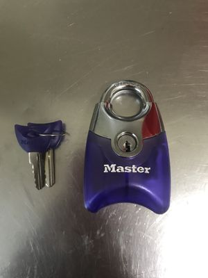 Translucent Purple Master Lock for Sale in Arlington, VA
