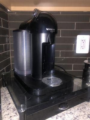 Nespresso Vertuo Coffee and Espresso Machine by Breville, Chrome for Sale in Ashburn, VA