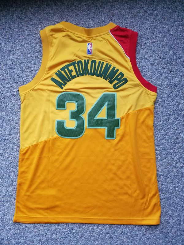 cheap for discount 953e9 1bf98 Greek Freak City Edition Jersey for Sale in Bristol, WI - OfferUp