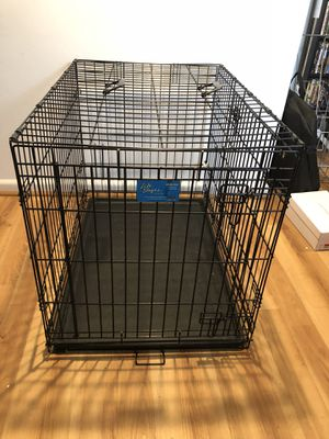 Large Metal Dog Crate for Sale in Alexandria, VA