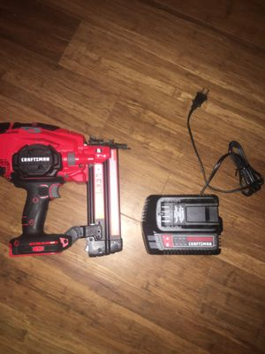 Photo 18 gauge cordless Brad nailer 20v max