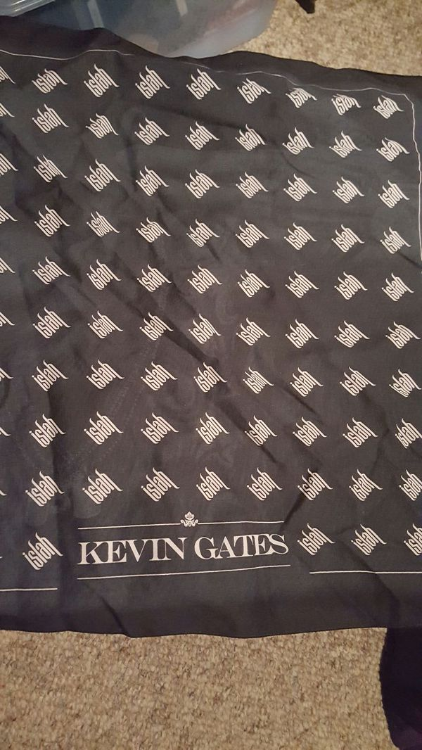 Authentic Kevin Gates ISLAH bandana for Sale in Derry, NH - OfferUp