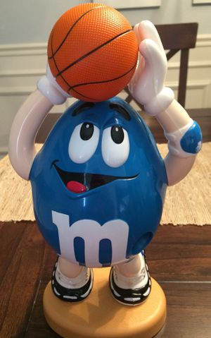 Mr. Blue M&M Candy Dispenser Collectible for Sale in Mount Dora, FL