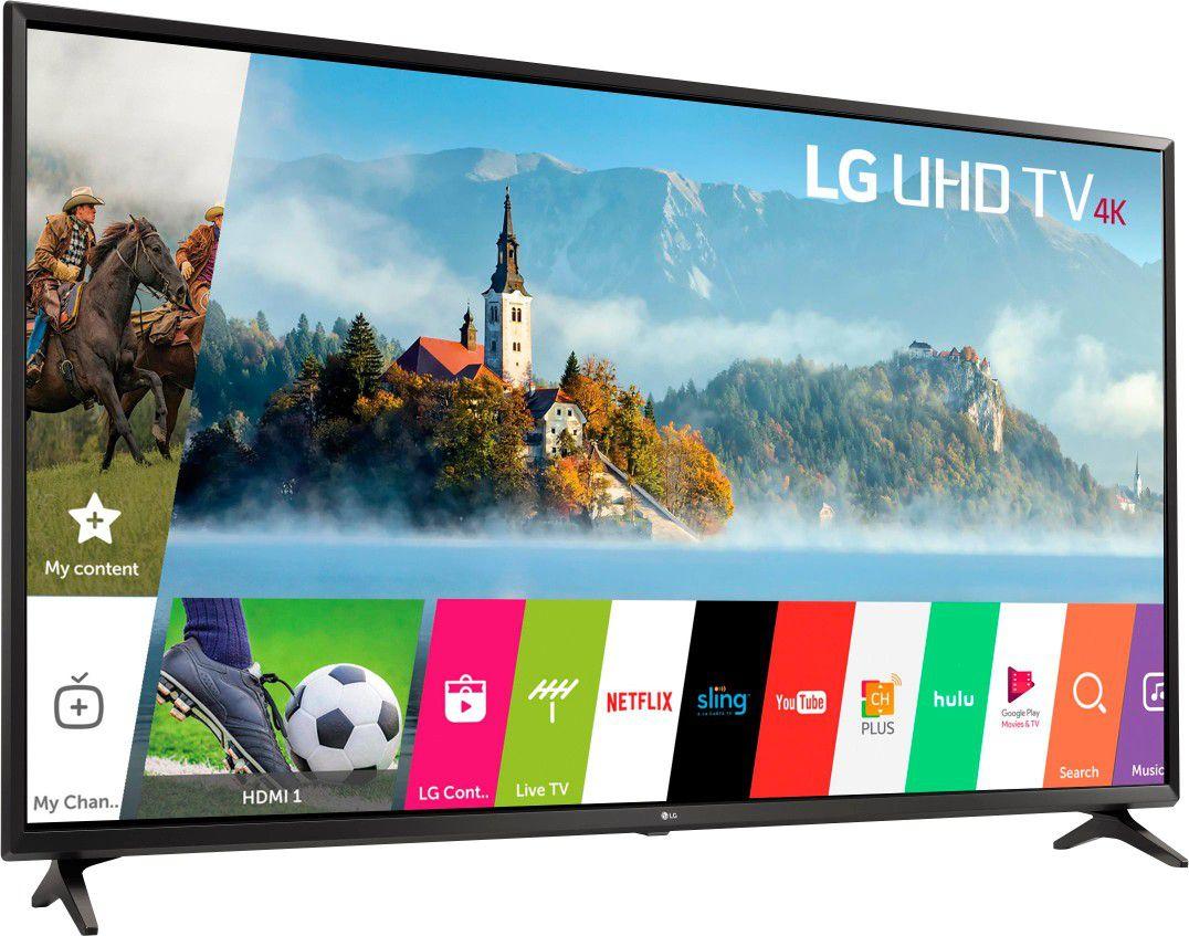 "LG - 49"" Class - LED - UJ6300 Series - 2160p - Smart - 4K UHD TV with HDR"