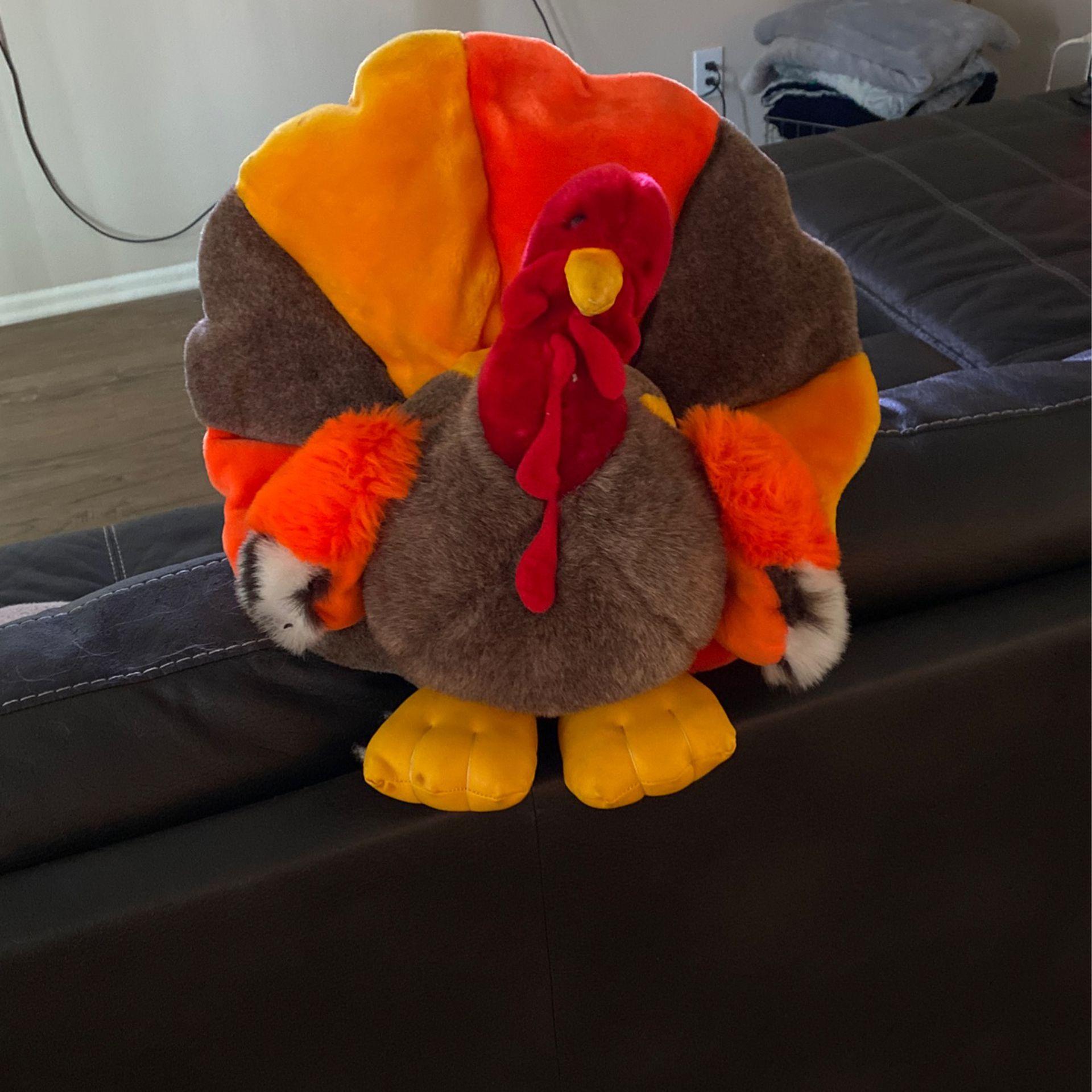 Turkey Plush - Happy Thanksgiving