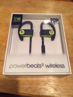 Beats by Dre- power beats 3 wireless BRAND NEW Thumbnail