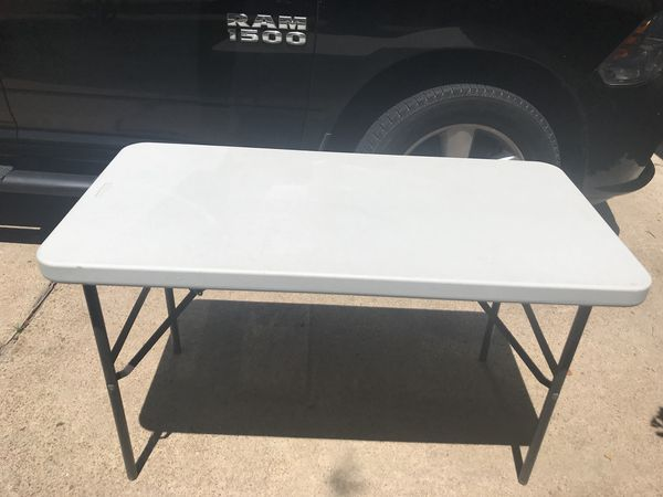 4 x 2 x 29 folding table for sale in houston tx offerup