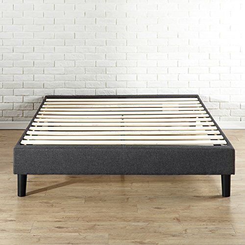 Zinus Essential Upholstered Platform Bed Frame Mattress Foundation No Boxspring Needed Wood Slat Support Full For Sale In Cleveland OH