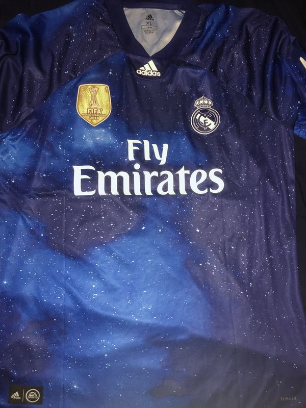 reputable site a65db 82c70 Real Madrid Sergio Ramos EA Sports 4 XL for Sale in Farmers Branch, TX -  OfferUp
