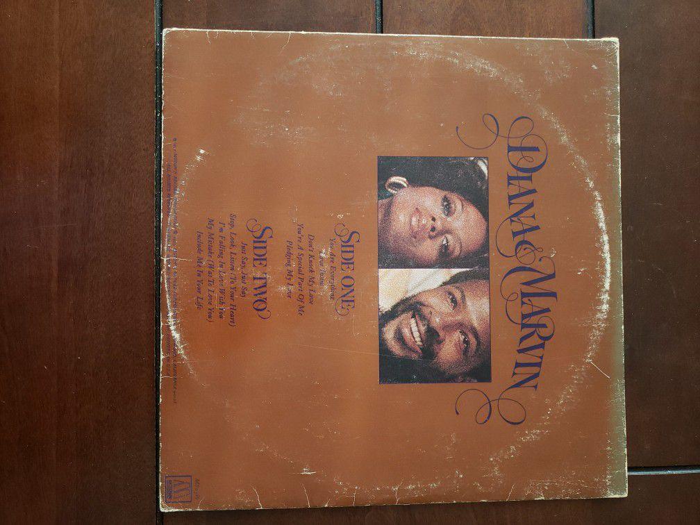 Marvin Gaye And Diana Ross 1973 Motown Vintage Vinyl Record Album Lp Soul