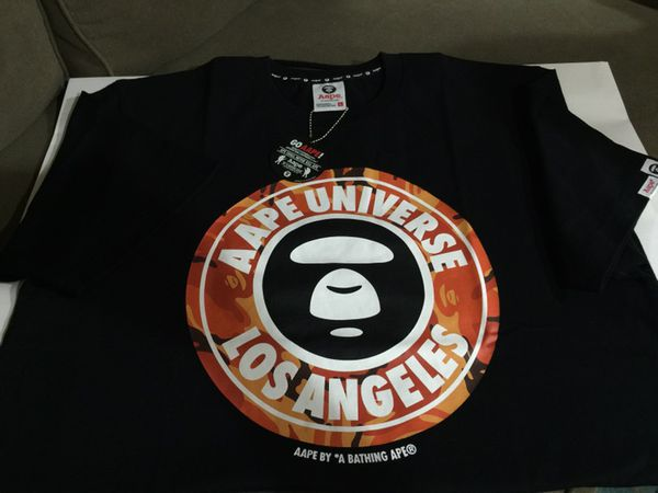 ad512320 Aape by A Bathing Ape-Limited release LA EXCLUSIVE Tshirt-size L. Los  Angeles ...