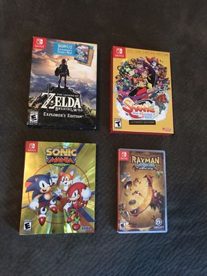 Nintendo Switch games for Sale in Riverside, CA