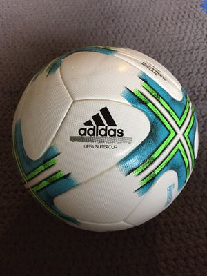 BRAND NEW OFFICIAL SOCCER BALL SIZE 5 FIFA ARRPOVED SUPERCUP for Sale in Alexandria, VA