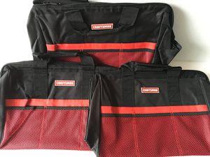 Photo 18 Craftsman Tool Bags Qty 3