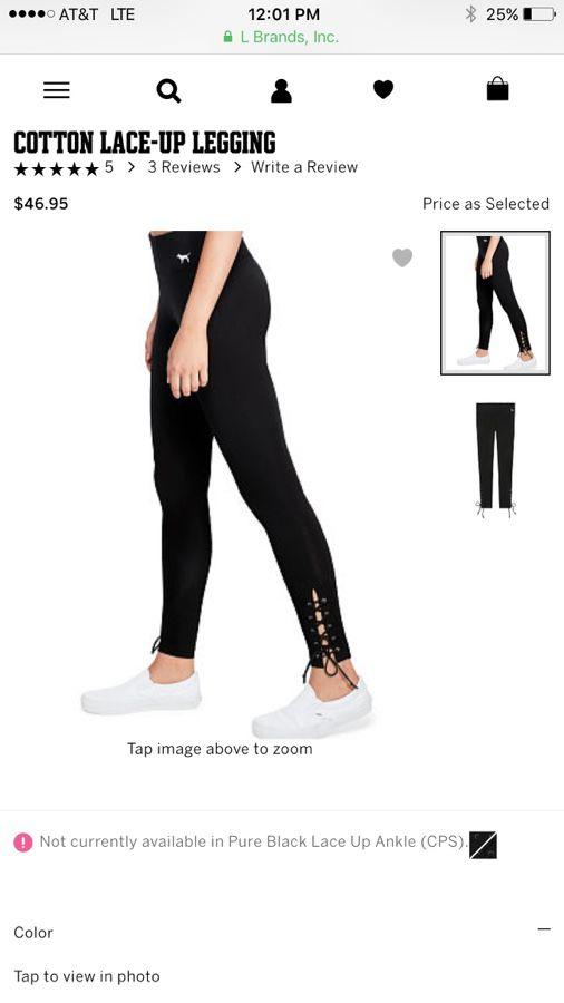 c46f42e7bc895 Victoria's Secret leggings size XS for Sale in Everett, WA - OfferUp
