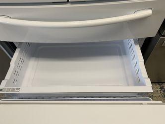 Samsung 4 door fridge in glossy white Thumbnail