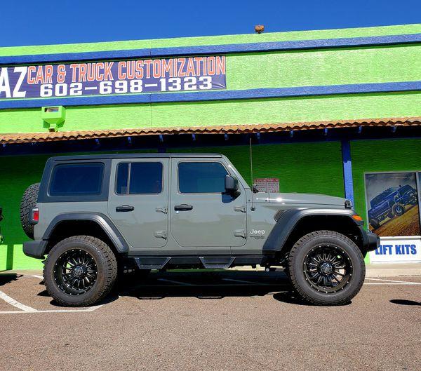 "2.5"" Lift Kit Install For 07-20 Jeep Wrangler Rubicon"