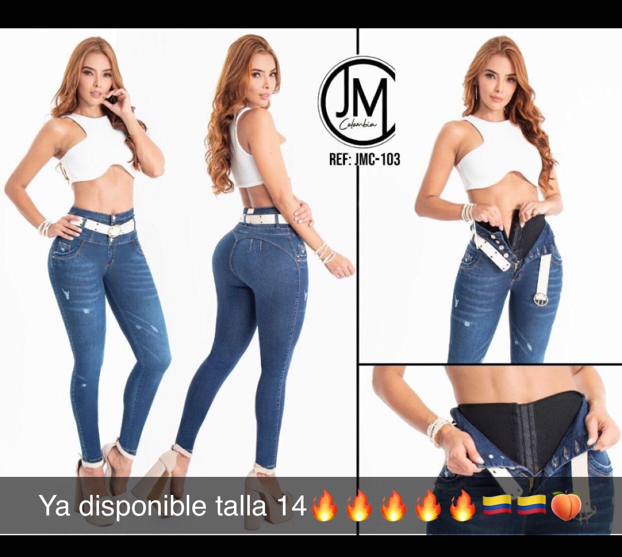 💯💯🇨🇴🍑 Colombiana Jean