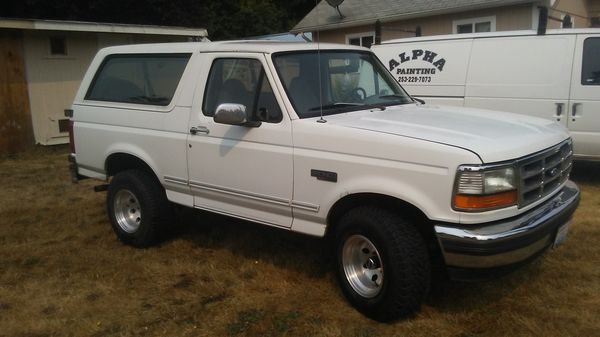 Lexus Des Moines >> 1995 Ford bronco for Sale in Tacoma, WA - OfferUp