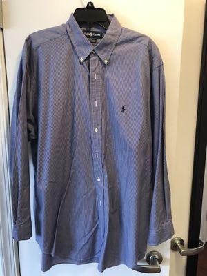 4 Ralph Lauren Polo Men's Dress Shirts, 17-34/35 for Sale in Washington, DC