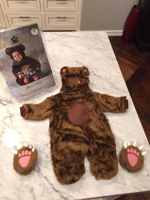 Used, Tom Arma Baby Bear Costume 6-12 mos for sale  Bixby, OK