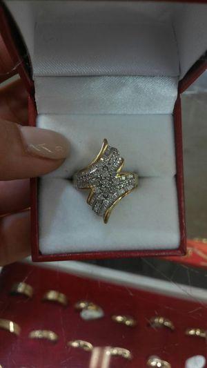 Gold Diamond Cut Ring for Sale in Orlando, FL