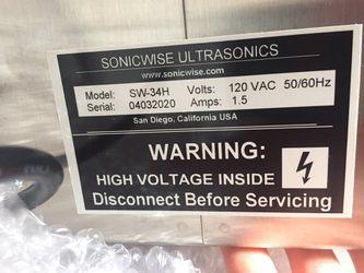 Sonic wise Ultrasonic Cleaner 2.75 Qt. Thumbnail