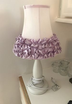 Violet lamp for Sale in Houston, TX