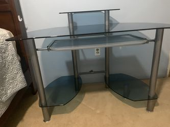 Glass Office Table  Thumbnail