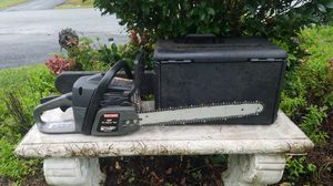 """SEARS 42CC 18"""" CHAINSAW+ CASE for Sale in Inwood, WV"""