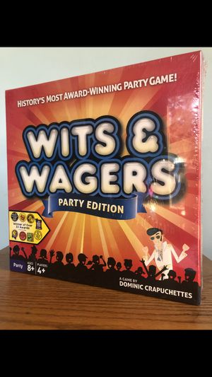 Photo Wits and Wagers Party Edition - North Star Games