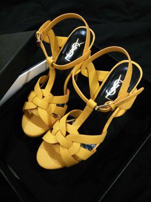 Saint Laurent Open Toes Heels Sandals size 8.5 for Sale in Montgomery Village, MD
