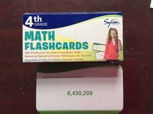 Math Flash Cards for Sale in Centreville, VA