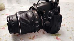 Nikon D3000 DSLR Camera with Accessories for Sale in Washington, DC
