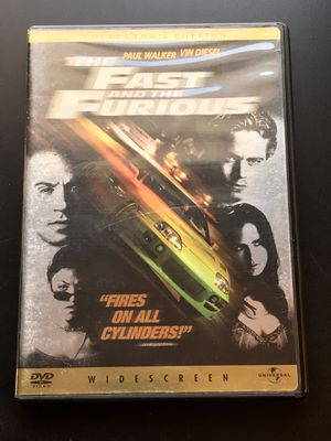 The Fast & Furious DVD for Sale in Leesburg, VA