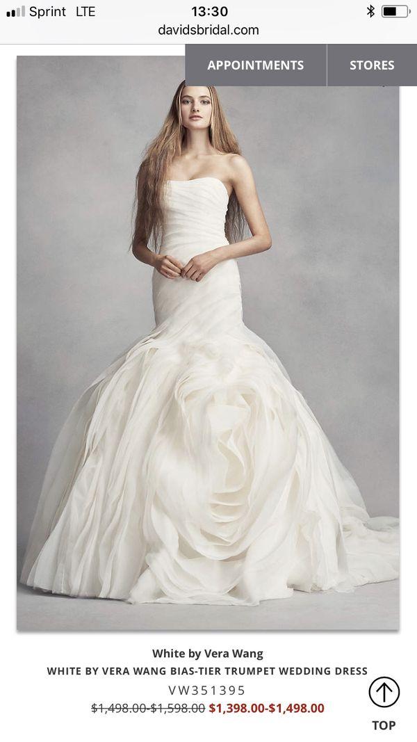 ***REDUCED*** Vera Wang Plus Size Wedding Dress for Sale in Phoenix, AZ -  OfferUp