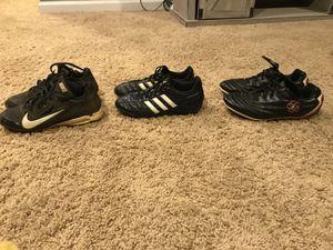 Nike football cleats, Adidas soccer cleats & Estero baseball cleats for Sale in Potomac Falls, VA