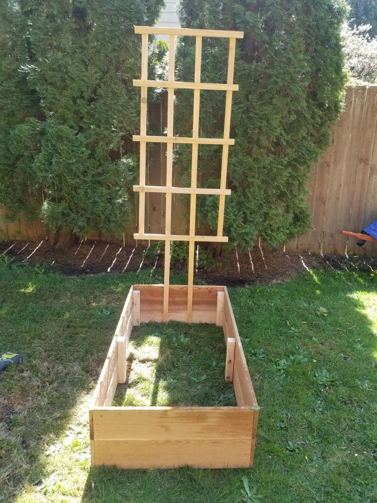 Custom built planter boxes