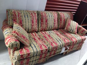 Beautiful silk sofa bed for Sale in Washington, DC