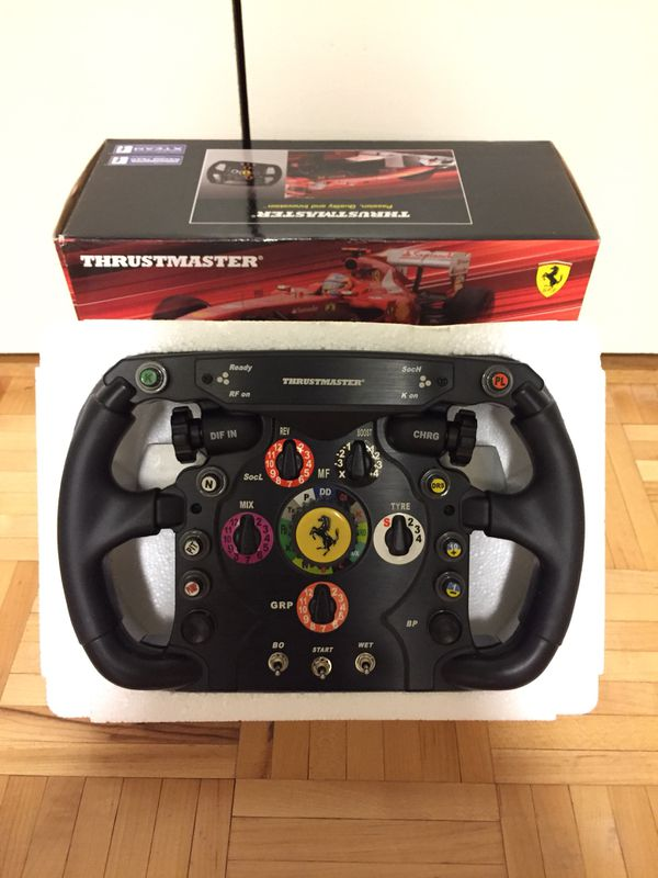 Thrustmaster Ferrari F1 Wheel Add-On for PS3 / PS4 / PC / Xbox One for Sale  in New York, NY - OfferUp