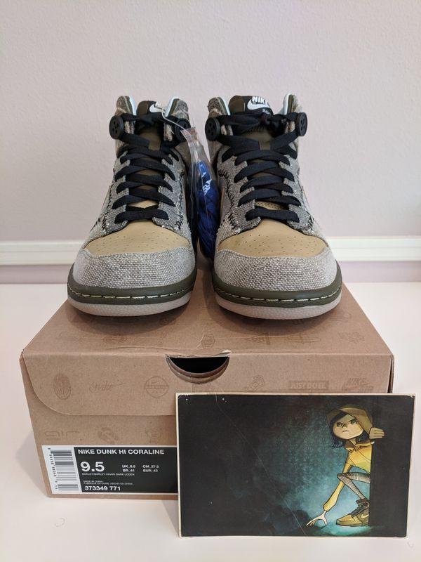 promo code df4c9 6dd48 Nike Dunk HI Coraline men s 9.5 DS