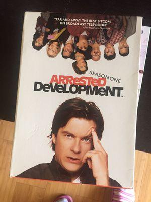 Arrested Development 3 disc DVD season one. for Sale in Newark, CA