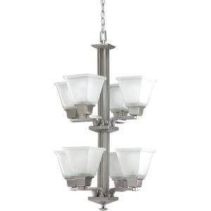 NEW Brushed Nickel Elegant Chandelier 8 lights for Sale in Sully Station, VA