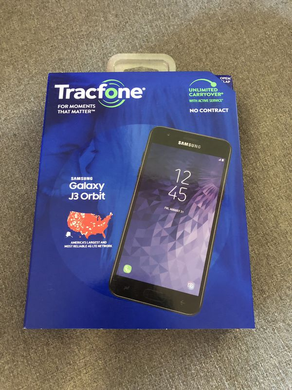 TracFone Samsung Galaxy J3 Orbit 4G LTE Prepaid Cell Phone for Sale in  Kernersville, NC - OfferUp