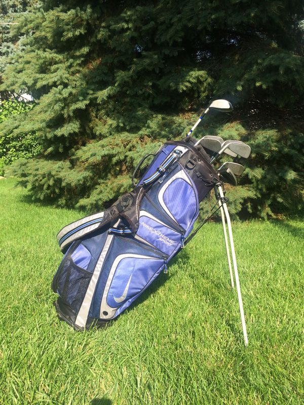 5d6fb6497303 Golf Clubs   Nike Golf Bag for Sale in Warrenville