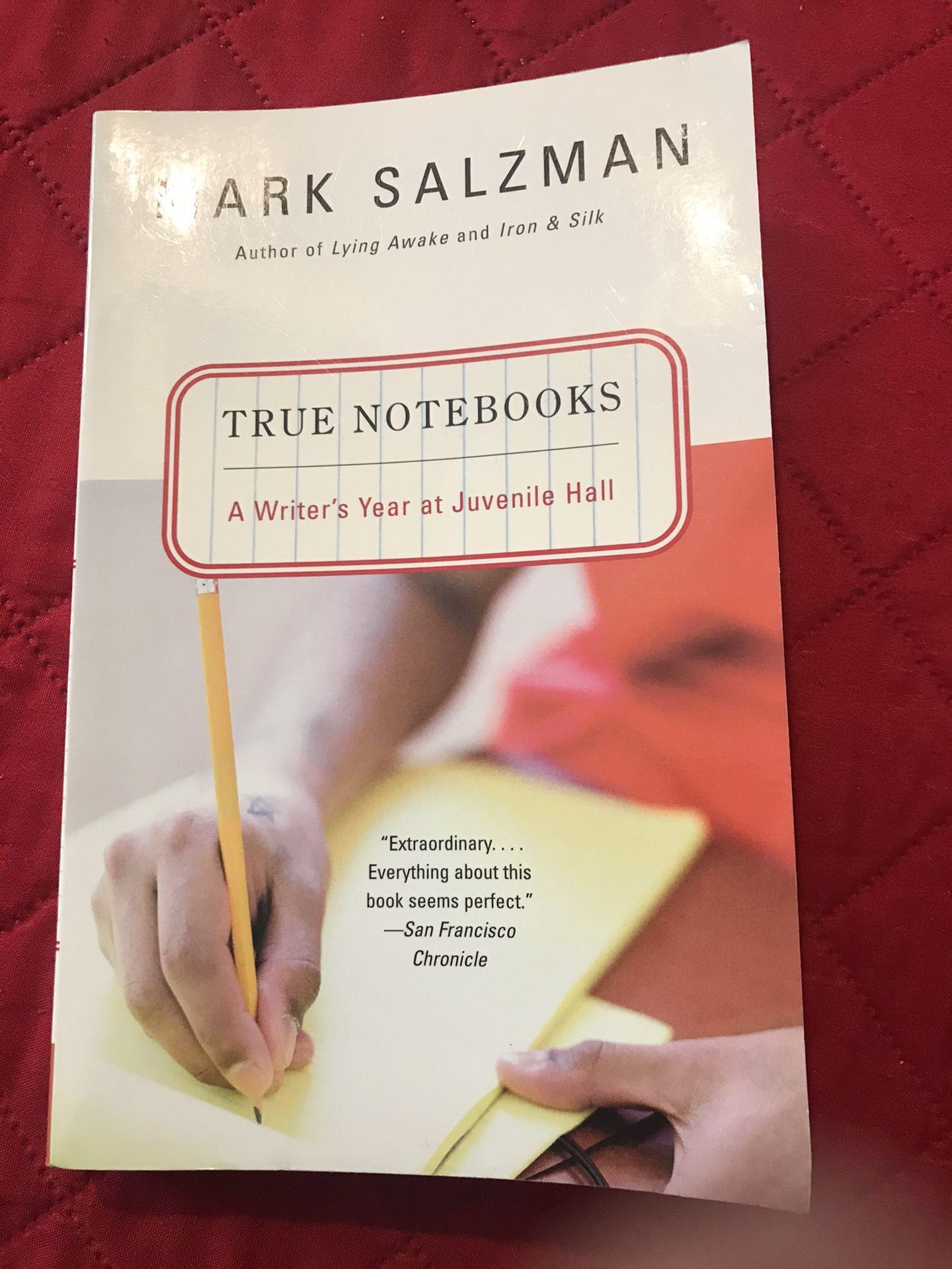 Mark Salzman ( a writers year at juvenile Hall)