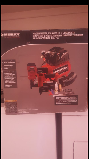 Air compressor and nailer and brand nailer for Sale in Denver, CO
